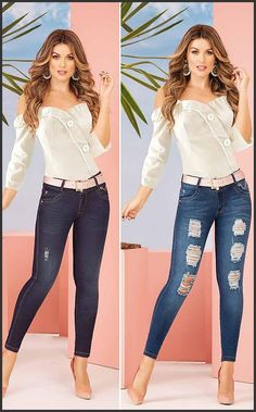 Sexy Jeans, Skinny Jeans, Casual Outfits, Cute Outfits, Indian Fashion Trends, Moda Chic, Thalia, Work Attire, Pant Jumpsuit