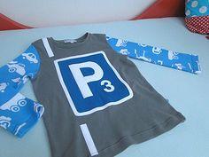 Parkplatz Geburtstagsshirt by Frau Erbse