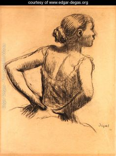 View Buste de danseuse by Edgar Degas on artnet. Browse upcoming and past auction lots by Edgar Degas. Edgar Degas, Monet, Degas Drawings, Art Drawings, Life Drawing, Figure Drawing, Degas Ballerina, Creation Art, A Level Art