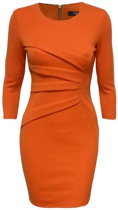 f328d9258da Jane Norman Orange Diagonal Print Bodycon Dress Red Bodycon Dress