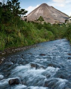 A serene clear morning at Arenal #Volcano!  Come visit Costa Rica's #adventure capital. #CostaRica #vacations #crexperts