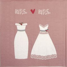 👉 Wedding - Mrs and Mrs - 1 lunch napkin: lunch ser . 👉 Wedding – Mrs and Mrs – 1 lunch napkin: lunch napkin size: x Shop Logo, Paper Napkins For Decoupage, Wedding News, Napkin Folding, Wedding Napkins, Rice Paper, Lunch, Rose, Crafts