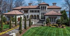 16125 Jetton Road, Cornelius, NC 28031, $4,950,000, 5 beds, 6.75 baths, 12482 sq ft For more information, contact Lori Ivester Jackson, Ivester Jackson Properties, 888-378-5232