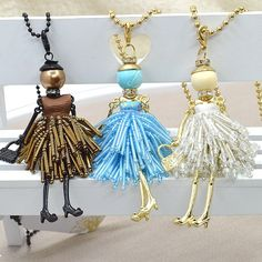 Cheap Pendant Necklaces, Buy Directly from China Suppliers: Live in the city green elves... Handmade fairy dolls, each season dressed in all kinds of handmade clo