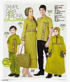 Baju Sarimbit Keluarga Muslim 2014   Cantik Berbaju Muslim