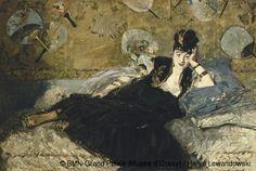 Edouard Manet – La dame aux éventails, 1873; Huile sur toile, H. 113,5 ; L. 166,5 cm | Paris, musée d'Orsay