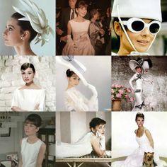 Audrey in white