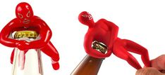 Mexican wrestler bottle openers. http://drinksfeed.com/mexican-wrestler-bottle-openers/ #bartoys