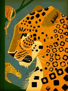 Leopard. © Dieter Braun Illustration