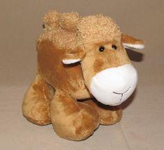Circo Tan White Camel Two Hump Plush Stuffed Animal Toy Target Curly Fur #Circo