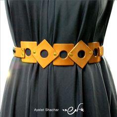 Square On Square - Leather Belt, Natural Color - women belts - waist belt -  jeans belt - wedding sash- OFF. abstyl · ceinture 8590165d90c