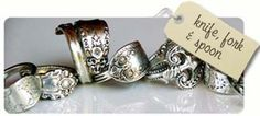 Image detail for -handcrafted jewellery antique vintage knife fork and spoon jewellery