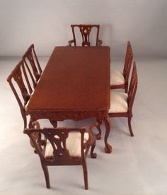 unknown artist - Chippendale dining room set