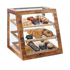 Cal-Mil Madera 3 Tier Bakery Case