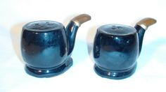 Ceramic Smoking Pipes Japan Vintage Salt & Pepper Shakers