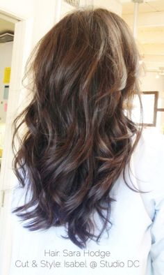 Long hair cut with layers. I like this cut!