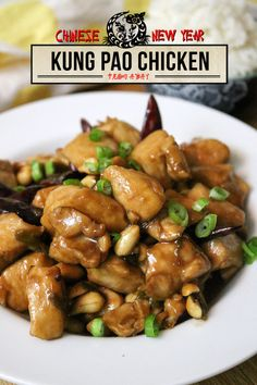 Ready to make our (somewhat) authentic take on the Chinese takeout classic? You'll love our recipe for Kung Pao Chicken, with fiery chilies and peanuts.