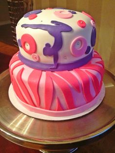 Zebra Gymnastics Cake Photo: This Photo was uploaded by toosweeties. Find other Zebra Gymnastics Cake pictures and photos or upload your own with Photob...