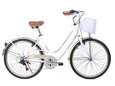 City Mujer/Blanco Dorado. Disponible desde el 12 de octubre en www.gamabikes.com. #nuevatemporadagama #gamabikes #bici