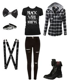"""Black Veil Brides"" by awesome-nerd on Polyvore featuring River Island and Soda"