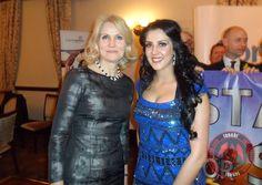 Samira Mohamed Ali with Prime Minister of Denmark Helle Thorning-Schmidt at last night's event