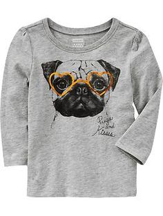 Puff-Sleeve Graphic Tees for Baby | Old Navy  @Steph Peters