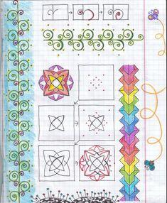 Zentangle patterns by Artcat 86