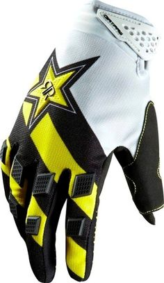 Fox Racing 2013 Dirtpaw Rockstar Gloves just picked up these bad boys today