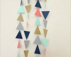 Paper Garland Party Garland Birthday Garland Wedding