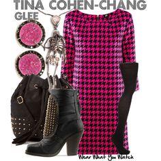 Glee's Tina Cohen Chang Fashion