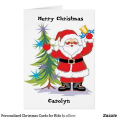 Personalized Christmas Cards for Kids