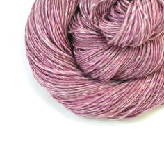 Merino & Silk  Handspun Yarn Sport Weight Yarn by TheSavvyStitch