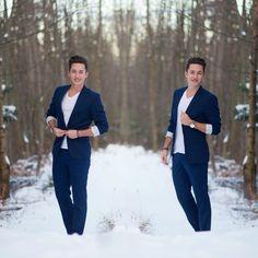 // winter //   Shop the look:  Suit: @zara  Tshirt: @hm Watch: @klasse14  Bracelet: @thetomhope  ____________________________________  For more street styles & dapper outfits follow me on IG: ✖️ @menstylefashionblog ✖️ @MSFBestof ✖️ #menstylefashionblog  _____________________________________  Use #MENSTYLEFASHIONBLOG for my support!  - mens wear - men style - mens fashion - classy - dapper - luxury