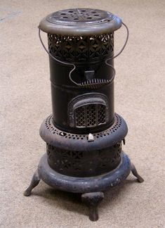 A paraffin heater just like this one was lit upstairs most nights. I remember the smell. I think my parents gave me the heater and I threw it away :( My Childhood Memories, My Memory, The Good Old Days, The Past, Household, Old Things, Retro, Central Heating, 1960s
