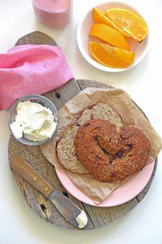 Heart-Shaped Bagels - Orange Cranberry [Gluten Free]  [Vegan]