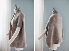 From the Design Studio: Inversion Cardigan - Brooklyn Tweed