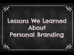 Lessons We Learned About Personal Branding by domain .ME via slideshare