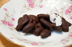 Paleo chocolate covered almonds
