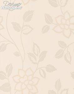 Zaria is a really versatile contemporary flock wallpaper.  Simple trailing stylised flowers climb up the wall.  Foliage and flower heads are in perfect balance, this wallpaper is crisp and smart.  Flock adds luxury.  Large scale 22cm/8.6inches tall.