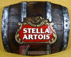 Tampa de barril Stella artois | Balde de cerveja | Viamonense