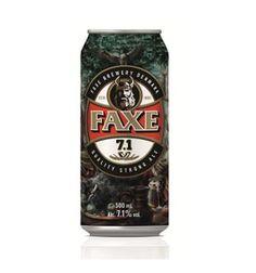 Faxe 7.1% Beer - Denmark