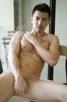 Hot asian male nude