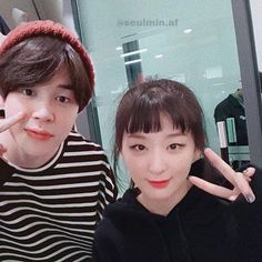 Jimin Seulgi, Kpop Couples, Other People, Boys, Girls, Boy Or Girl, Ships, Park, Red