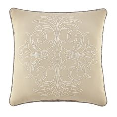 Croscill Home Lorraine Square Throw Pillow (Throw pillow)