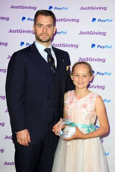 Henry Cavill News: Henry Proudly Represents The RMCTF At The JustGiving Awards