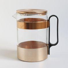 Pot of Coppered Aluminium