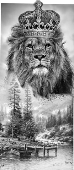 Tattoo Lion by Judah David 67 super ideas - Tattoo Lion . - Tattoo Lion by Judah David 67 Super Ideas – Tattoo Lion by Judah David 67 Super Ideas - Tattoos Phönix, Lion Head Tattoos, King Tattoos, Body Art Tattoos, Tattoos Tribal, Lion Images, Lion Pictures, Lion Tattoo With Crown, Lion Photography