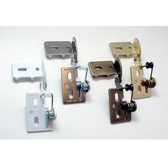 "Youngdale 3/8"" Inset Semi-Concealed Hinges - Woodworker's Hardware"
