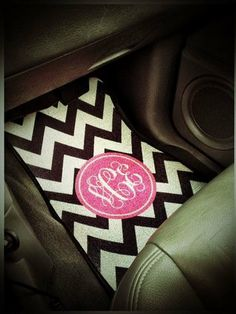 Personalized Front Seat Car Mats Set of 2 by MillerRoseAndCompany, $75.00