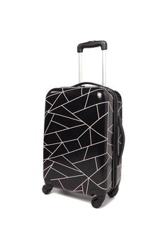 For when you wheely need to get away, the new carry-on suitcase is just wha Cute Luggage, Luggage Sets, Travel Luggage, Travel Bags, Cute Suitcases, Carry On Suitcases, Minimalist Bag, Accesorios Casual, Cute Backpacks